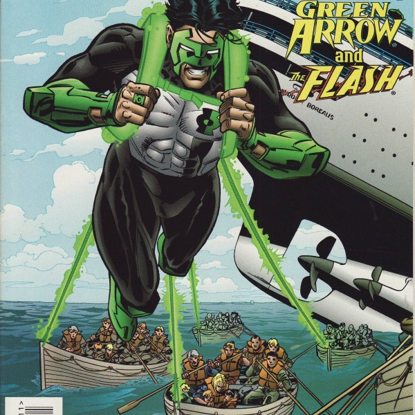 Green Lantern, Green Arrow, The Flash-485