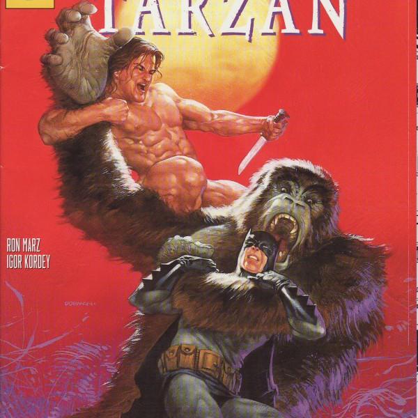 DC - Crossover Präsentiert: Batman / Tarzan-1049